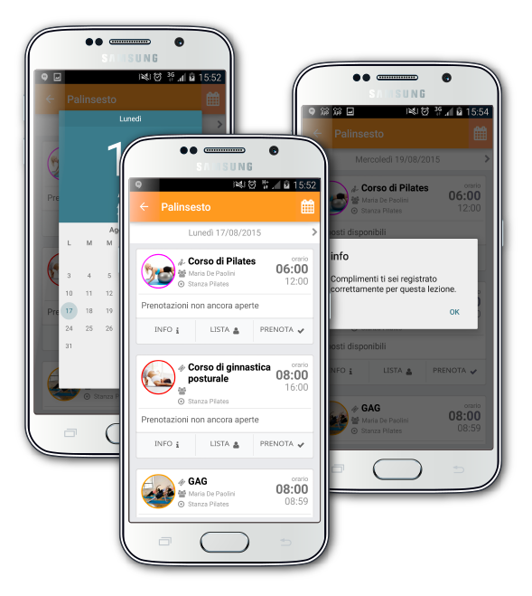 Prenotazioni App per i clienti