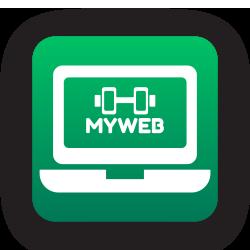 myweb il tuo sito legato al gestionale della palestra