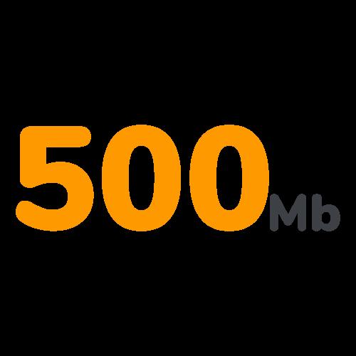 Limite upload 500MB